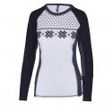 Dámske termo tričko s dlhým rukávom AUTHORITY-THALYNA II white -