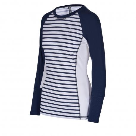 Dámské termo triko s dlouhým rukávem AUTHORITY-THALYNA II dk blue