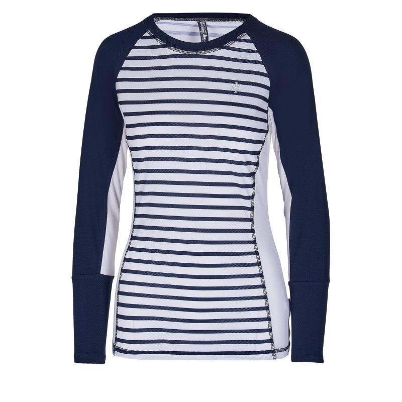 Dámske termo tričko s dlhým rukávom AUTHORITY-THALYNA II dk blue -