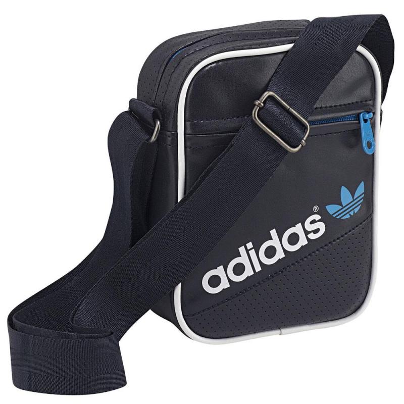 Malá taška cez rameno ADIDAS ORIGINALS-MINI BAG PERF   LEGINK SOLBLU WHT 5f07aa9d7879a