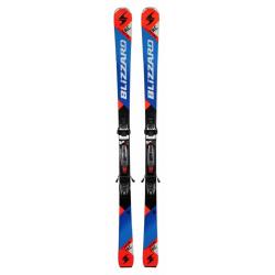 Závodné lyže BLIZZARD-RC Ca, black/blue/orange + vázání TP10 DEMO, blk./ant./ora.,