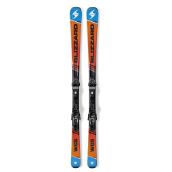 Lyže na zjazdovku - on piste BLIZZARD-WCS IQ, orange/blue/black + vázání IQ TP 10 CM2