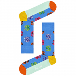 Ponožky HAPPY SOCKS-Andy Warhol Dollar Sock -AWDOL01-650