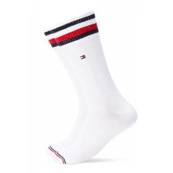 Pánske ponožky TOMMY HILFIGER-Men Pete Sock 2p White