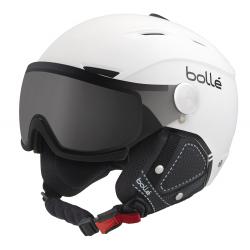 Lyžařská helma se štítem Boll-Backline VISOR PREMIUM-SOFT WHITE & BLACK