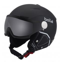 Lyžařská helma se štítem Boll-Backline VISOR PREMIUM-SOFT BLACK & WHITE