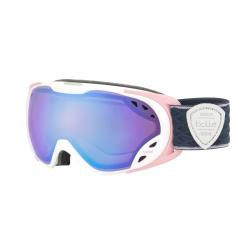 Dámské lyžařské brýle Bollé-DUCHESS-MATTE WHITE & PINK-AURORA
