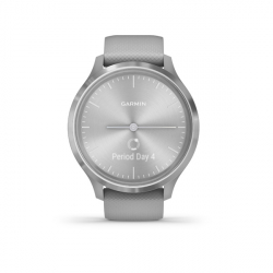 Monitor aktivity GARMIN-Vivomove 3 Powder Gray/Silver, Silicone