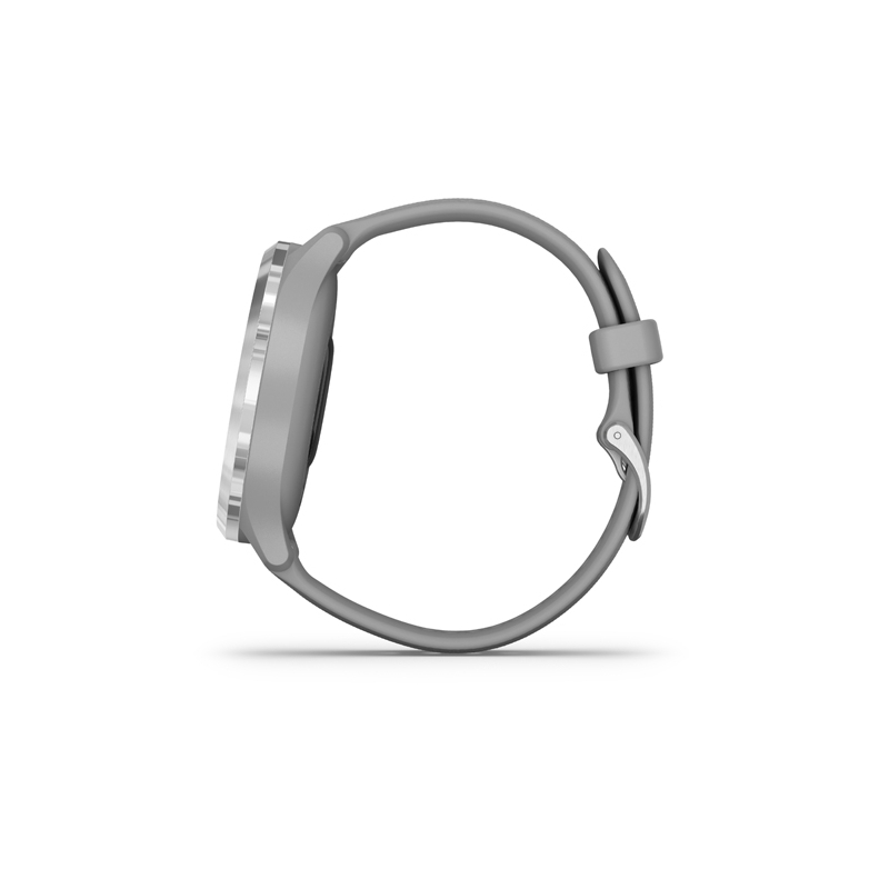 Monitor aktivity GARMIN-Vivomove 3 Powder Gray/Silver, Silicone -