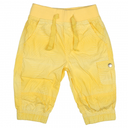 Dievčenské nohavice 3/4 AUTHORITY-BERTIKA G yellow