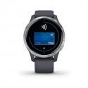 Monitor aktivity GARMIN-VENU Granite Blue/Silver -