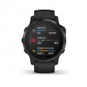 Monitor aktivity GARMIN-Fénix 6S PRO, Black, Black band -