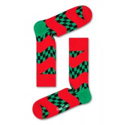 Ponožky HAPPY SOCKS-Race Sock -RAC01-4300