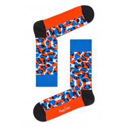 Módní ponožky HAPPY SOCKS-House v kopcích Blue Sock