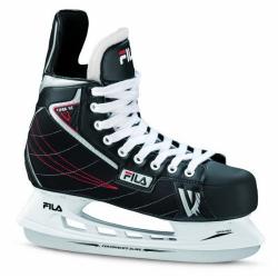 Pánské hokejové brusle FILA-VIPER HC BLACK / RED