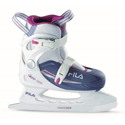 Juniorské lední brusle FILA-J-ONE G ICE HR WHITE / LIGHTBLUE