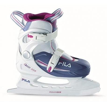 Juniorské lední brusle FILA-J-ONE G ICE HR WHITE / LIGHTBLUE