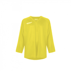 Hokejový dres s dlhým rukávom FISCHER-Practice Jersey yellow