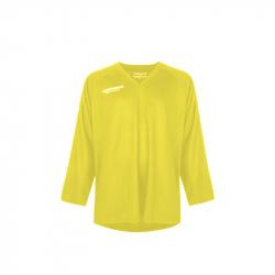 Hokejový dres s dlouhým rukávem FISCHER-Practice Jersey yellow