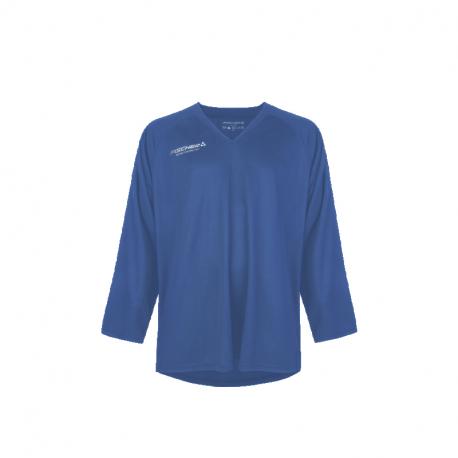 Hokejový dres s dlhým rukávom FISCHER-Practice Jersey blue