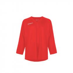 Hokejový dres s dlhým rukávom FISCHER-Practice Jersey red