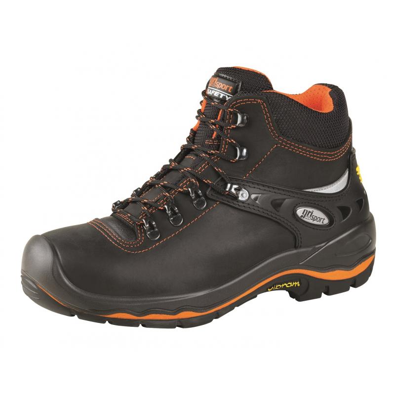Pánská pracovní obuv střední Grisport-Marmolada black -