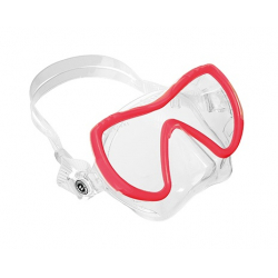 Potápěčská maska AQUALUNG-Visionflex MIDI LX CHILI RED