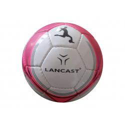 Futbalová halová lopta LANCAST-PLATINUM FUTSAL size3 WHITE/PINK INDOOR