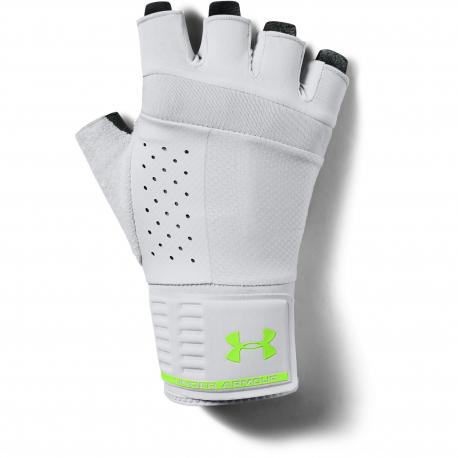 Pánske fitness rukavice UNDER ARMOUR-UA Mens Weightlifting Glove-GRY