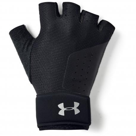 Dámske fitness rukavice UNDER ARMOUR-UA Womens Weight Lifting Glove-BLK