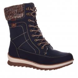 Dámska zimná obuv vysoká NORDBRANDT-210-024-90-black