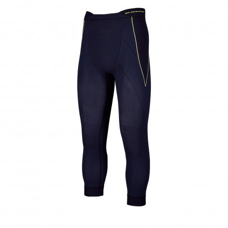 Pánske termo nohavice BLIZZARD-Mens long pants, anthracite/neon yellow