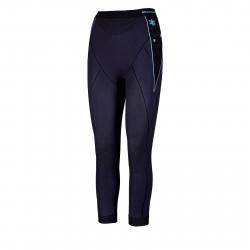 Dámské termo kalhoty BLIZZARD-Viva long pants, anthracite / light blue