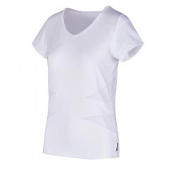 Dámske tréningové tričko s krátkym rukávom AUTHORITY-FITFLOWER T-SHIRT_DS white