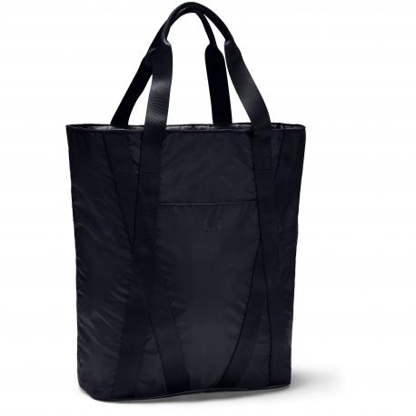 Dámska taška cez rameno UNDER ARMOUR-Essentials Zip Tote-BLK