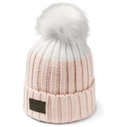 Dámská zimní čepice UNDER ARMOUR-Snowcrest Pom Beanie-PNK