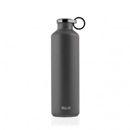 Fľaša EQUA-BASIC Dark Grey 680 ml