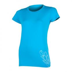 Dámské tréninkové tričko s krátkým rukávem SENSOR-Triko PT Coolmax Fresh Tulip dámské kr.rukáv, modrá