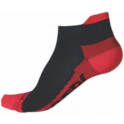 Běžecké ponožky SENSOR-Ponožky Coolmax Invisible černá / červená 13