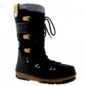 Dámska zimná obuv vysoká MOON BOOT-MBMONACOFELT003 -