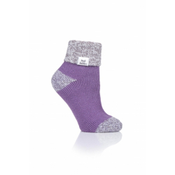 Dámské ponožky HEAT HOLDERS-LADIES socks violet III