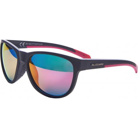 Športové okuliare BLIZZARD-Sun glasses POLSF701120, rubber dark grey , 64-16-133