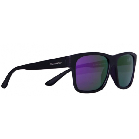 Športové okuliare BLIZZARD-Sun glasses POLSC802111, rubber black, 64-17-134