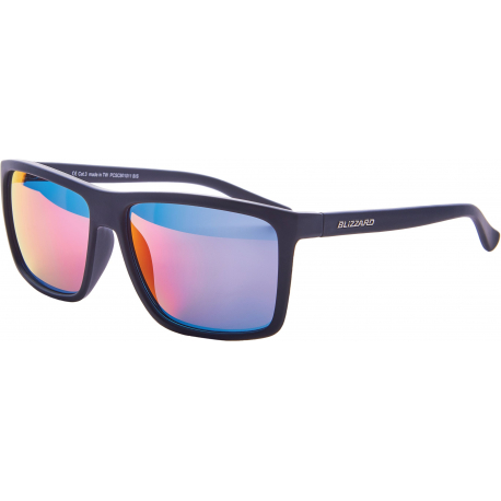 Športové okuliare BLIZZARD-Sun glasses PCSC801011, rubber black, 65-17-140