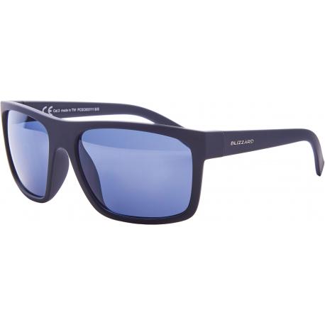 Sportovní brýle BLIZZARD-Sun glasses PCSC603111, rubber black, 68-17-133
