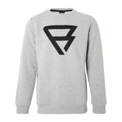 Pánska mikina BRUNOTTI-Brunotti Grey Sweaters