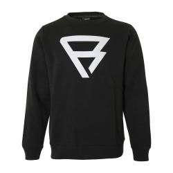 Pánska mikina BRUNOTTI-Brunotti Black Sweaters