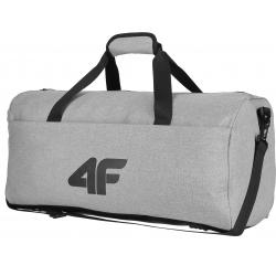 Cestovní taška 4F-UNISEX TRAVEL BAG MIDDLE GREY-H4L20-TPU011-24S