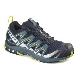 Pánska trailová obuv SALOMON-XA PRO 3D navy blaze/hydro/evening primrose