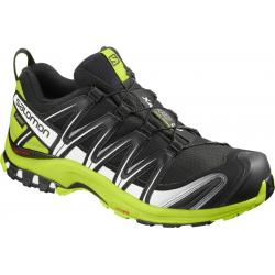 Pánska trailová obuv SALOMON-XA PRO 3D GTX black/lime green/white